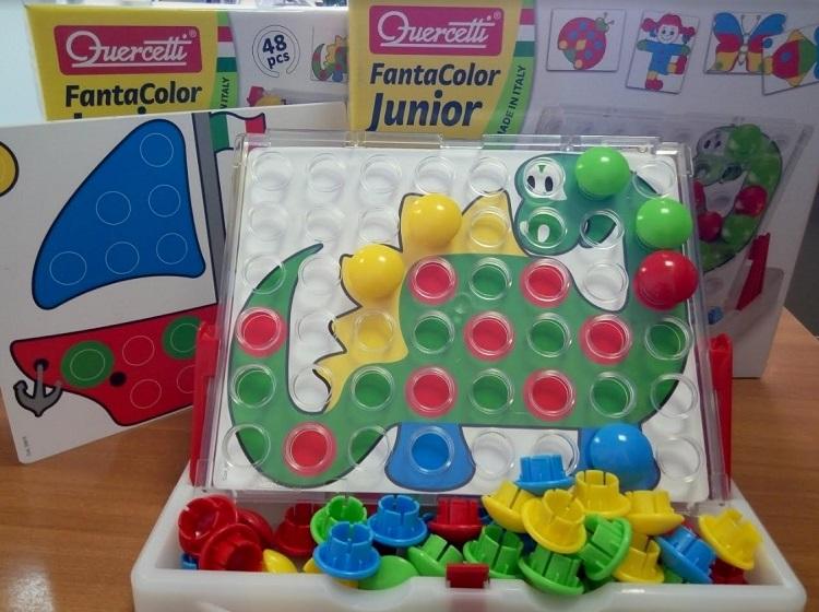 Quercetti 4195 мозаика для малышей