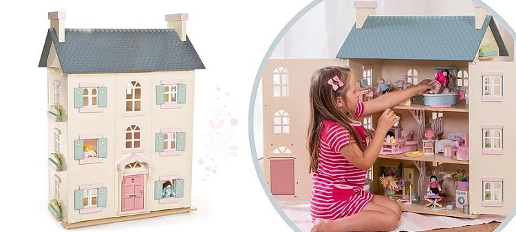 Домики для куколок до 15 см