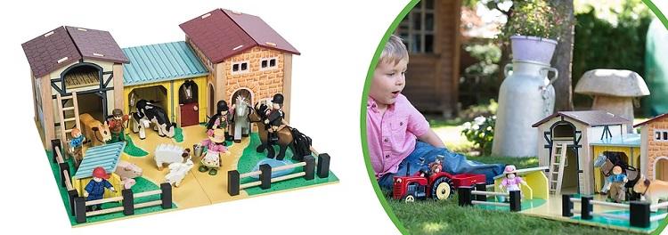 Фермы и животные игрушки