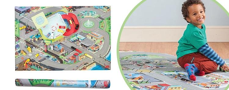Игровые детские коврики с прорезиненной поверхностью