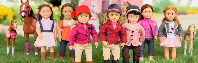 Куклы Our Generation Battat