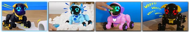 Wowwee Chippies интерактивные роботы щенки