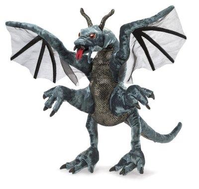 Игрушка дракона из ткани своими руками 6