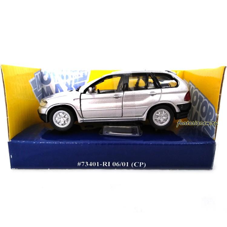 BMW X5 коллекционная модель масштаба 1:43, металл MotorMax ...
