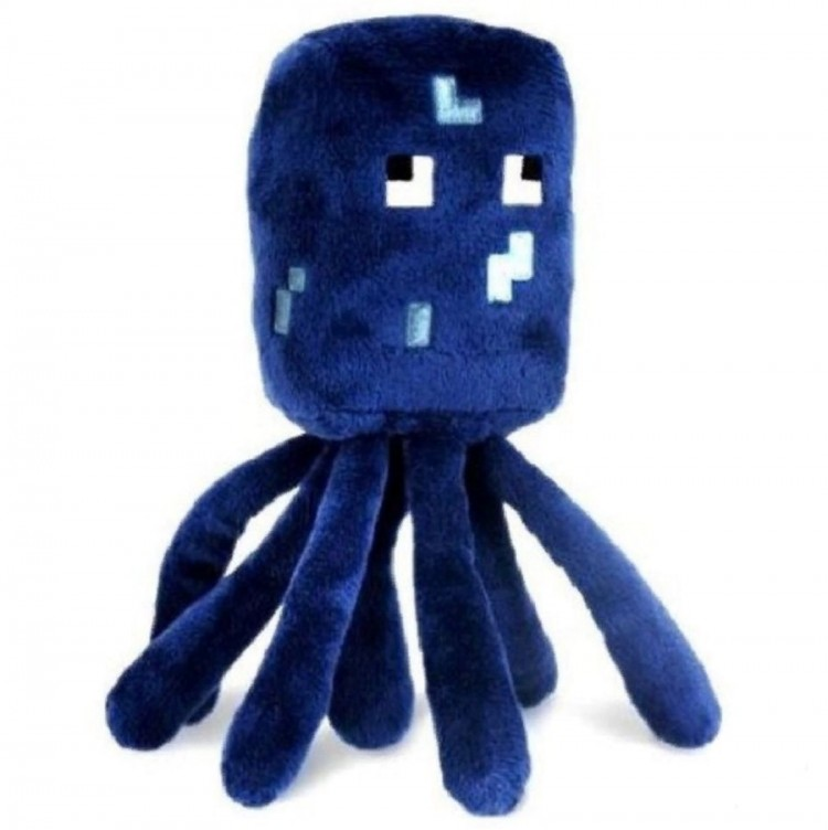 Мягкая игрушка Minecraft Squid Осьминог 18 см для детей от ...