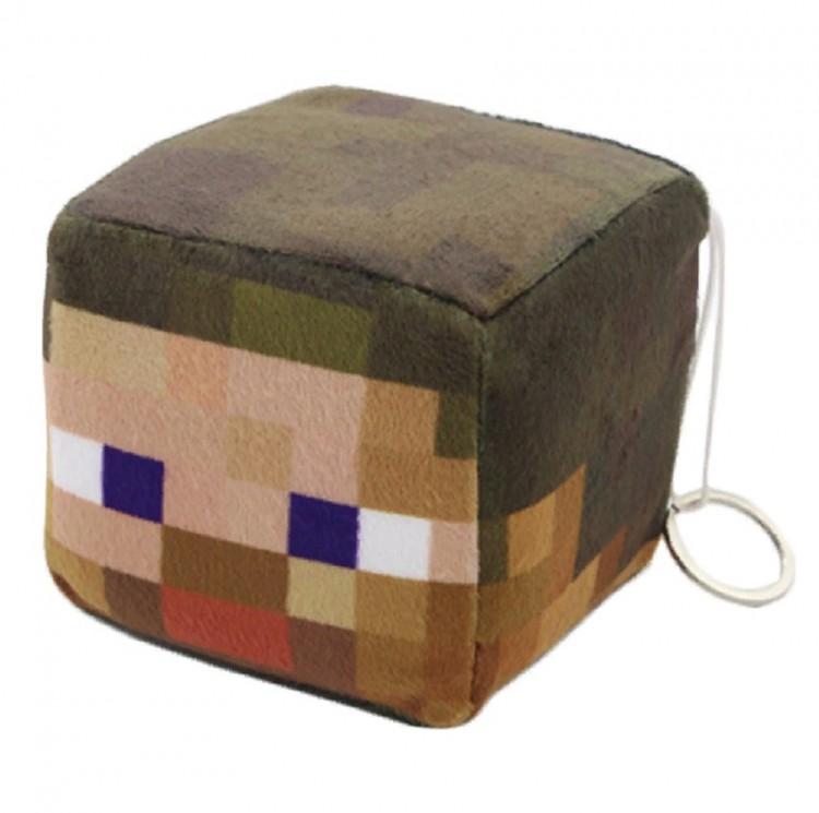 Мягкая игрушка куб Minecraft Steve 10 см для детей старше ...