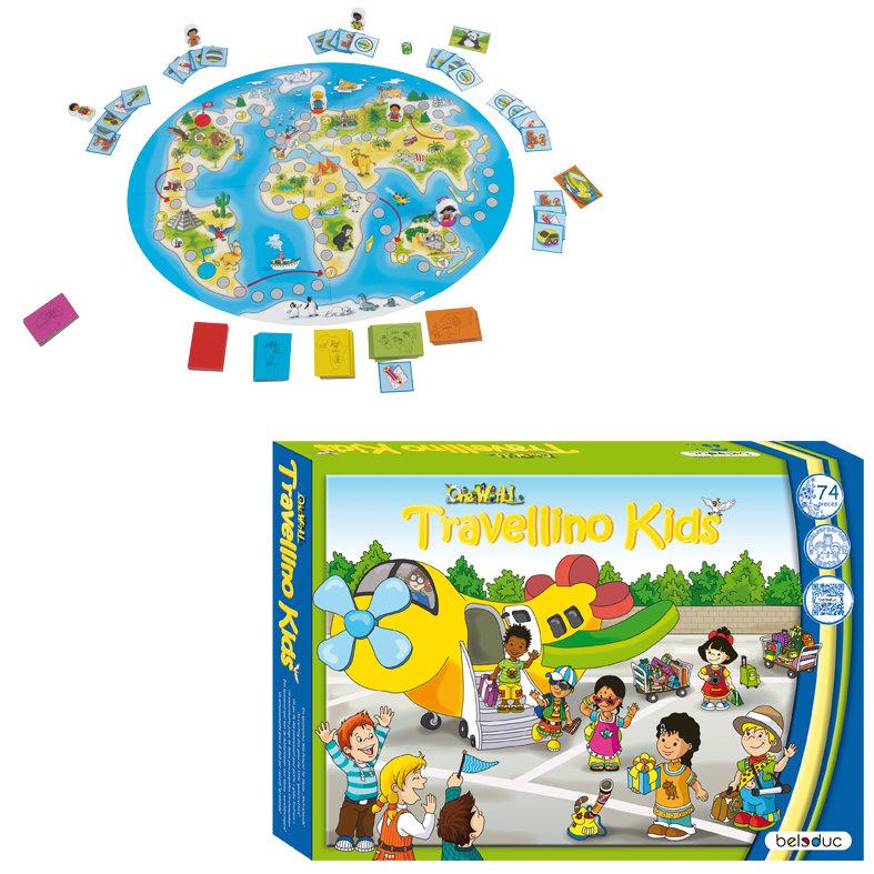 Травелино веселая настольная развивающая игра для детей от 3 лет фото