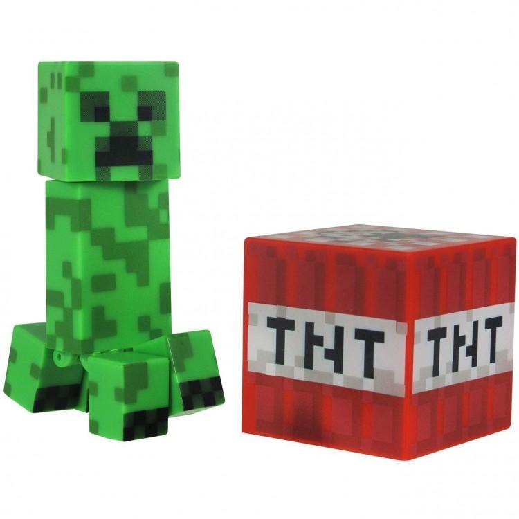 Minecraft Крипер с аксессуарами пластик 8 см фигурка из ...