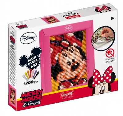 "Пиксельная мозаика Mini Pixel Art Minnie ""МИННИ"" 1200 эл. от 5 лет"